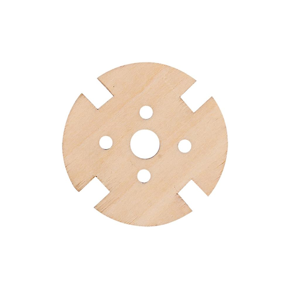 rc-airplane-parts 5pcs 221222082216 Wooden Motor Fixed Seat Motor Mount for RC Airplane Fixed Wing Spare Part HOB1564139 2