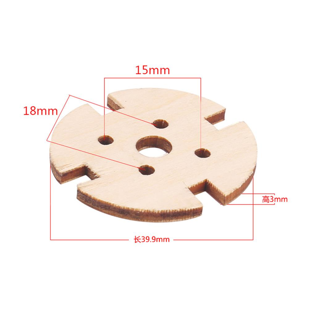 rc-airplane-parts 5pcs 221222082216 Wooden Motor Fixed Seat Motor Mount for RC Airplane Fixed Wing Spare Part HOB1564139 3