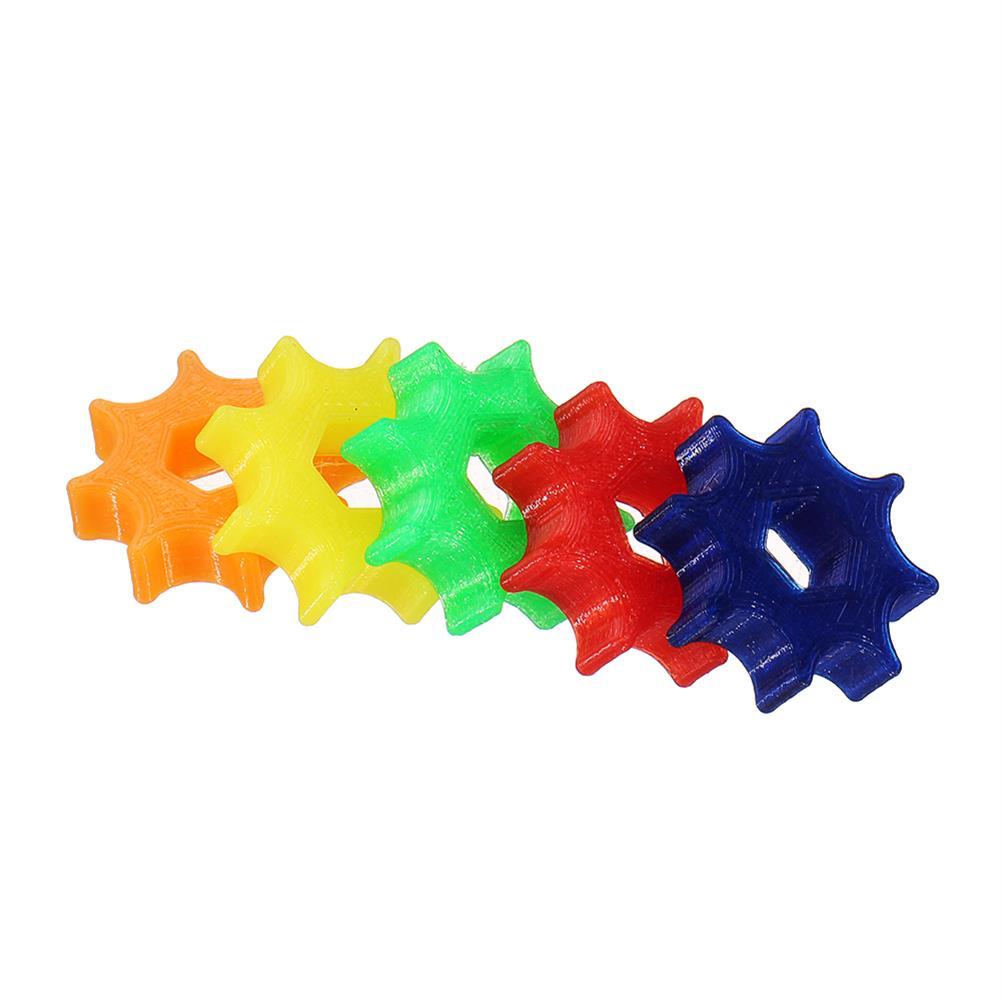 fpv-system 5pcs 3D Printed TPU Hex Handwheel Non-slip Wrench for Lollipop FPV Antenna SMA RC Racing Drone HOB1564155