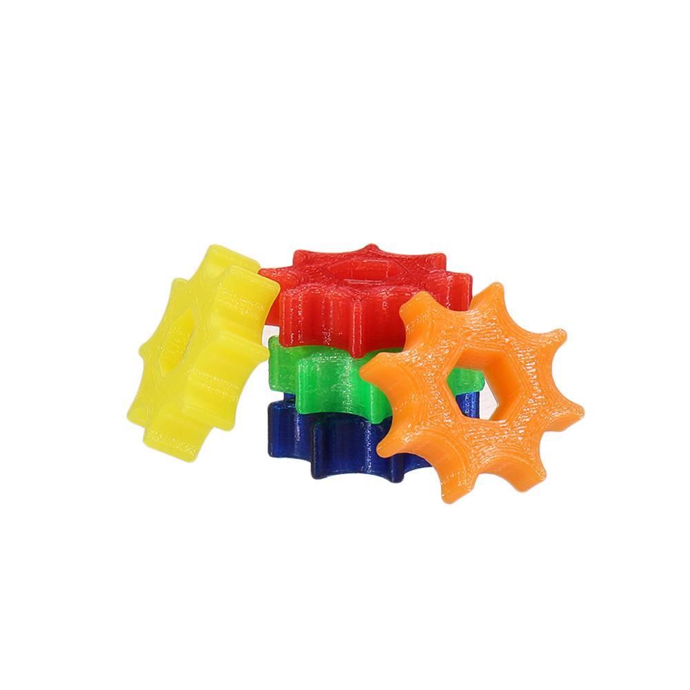 fpv-system 5pcs 3D Printed TPU Hex Handwheel Non-slip Wrench for Lollipop FPV Antenna SMA RC Racing Drone HOB1564155 2