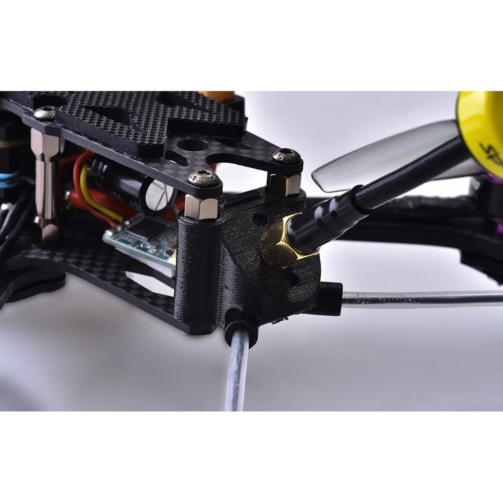fpv-system Speedybee 3D Printed FPV Antenna Mount 3 Holes Multiple ANT Mounting Bracket Fixing Seat SB-FRAME-ANT-MOUNT for RC Aircraft FPV Racing Drone Airplane Plane HOB1566895