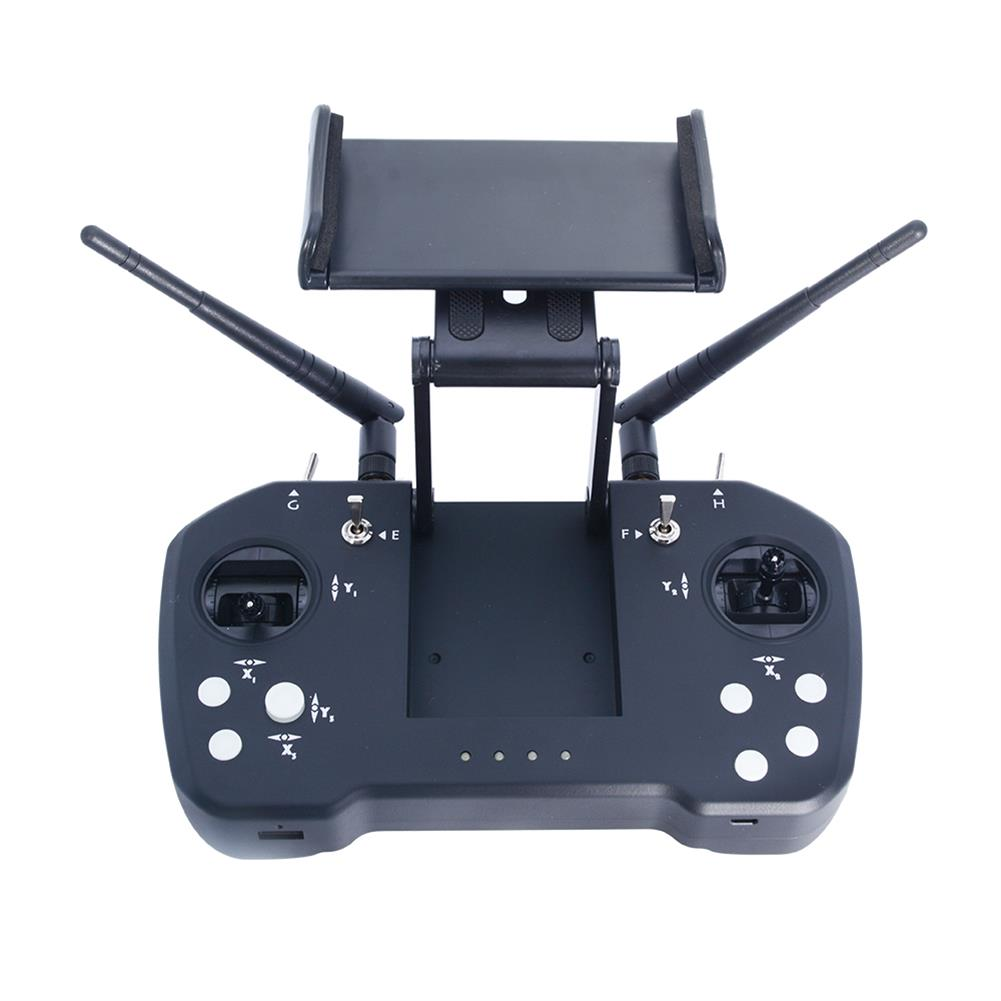 radios-receiver Skydroid T12 2.4GHz 12CH intergrated Control Video and Telemtry System 20km Range Transmitter with R12 Receiver and Camera for RC Drone HOB1567316