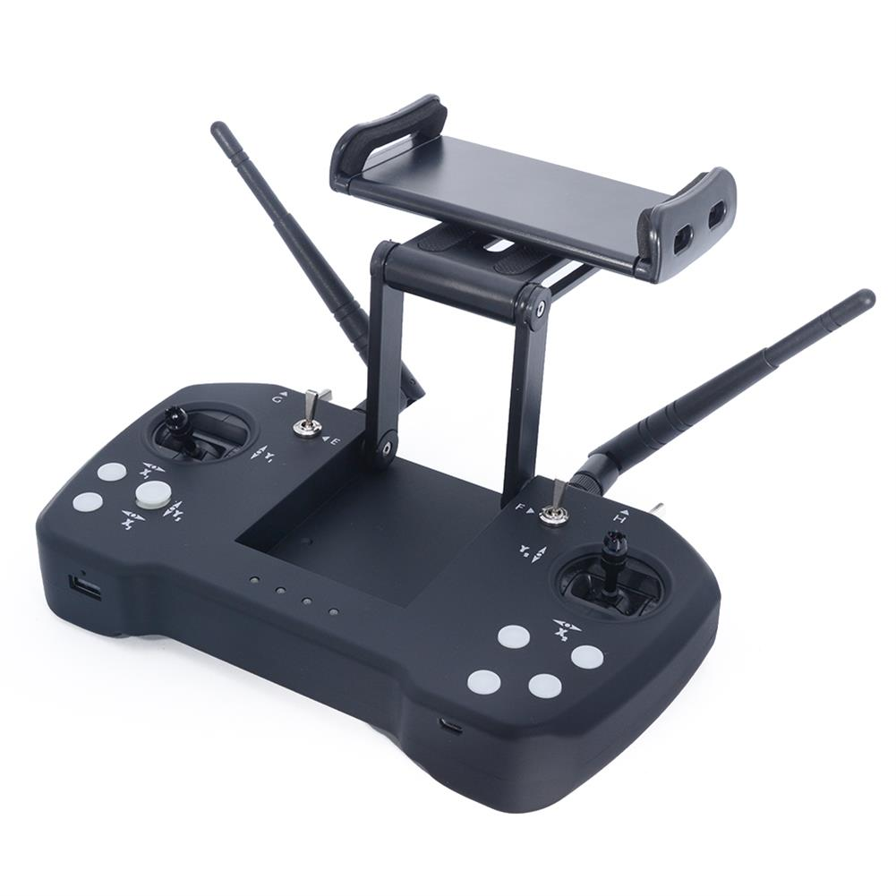 radios-receiver Skydroid T12 2.4GHz 12CH intergrated Control Video and Telemtry System 20km Range Transmitter with R12 Receiver and Camera for RC Drone HOB1567316 2