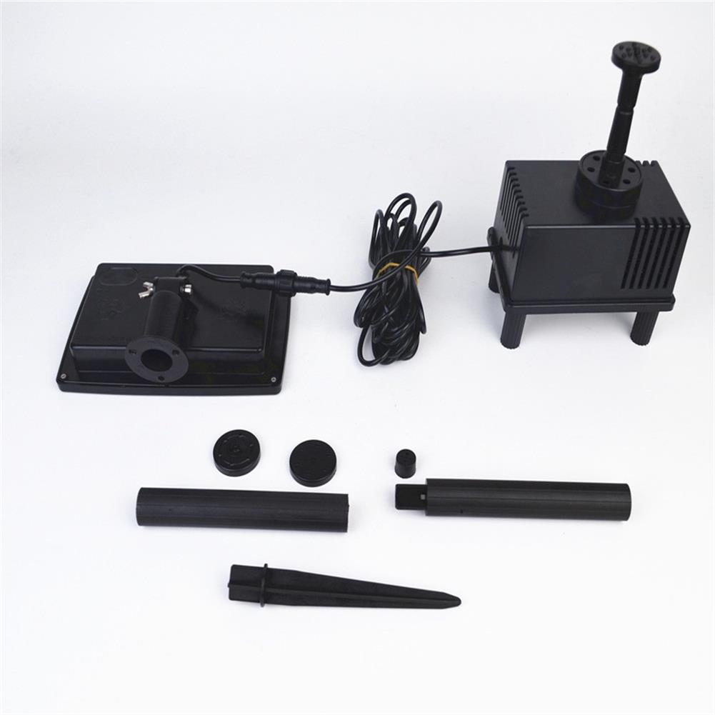 solar-powered-toys 7V 1.5W Solar Panel Powered Water Pump Toy Kit for Submersible Fountain Pond HOB1568092 1