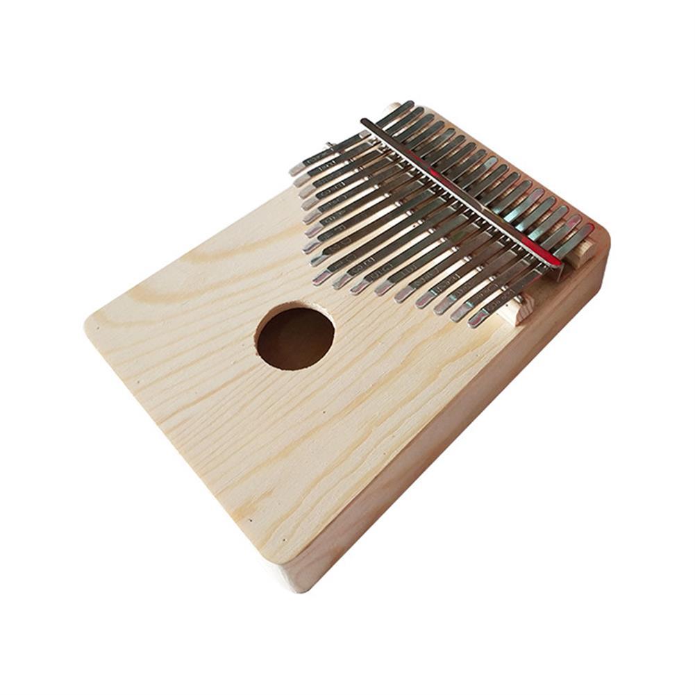 kalimba 17 Key Mbira DIY Kit Finger Thumb Piano for Handwork Painting Musical instrument HOB1569663 1
