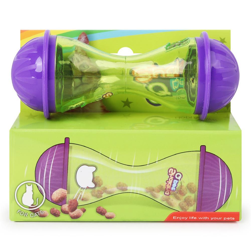 puzzle-game-toys Pet Dog Cat Puppy Bone Shape Tumbler Leakage Food Dispenser Feeder interactive Toys HOB1569686 1