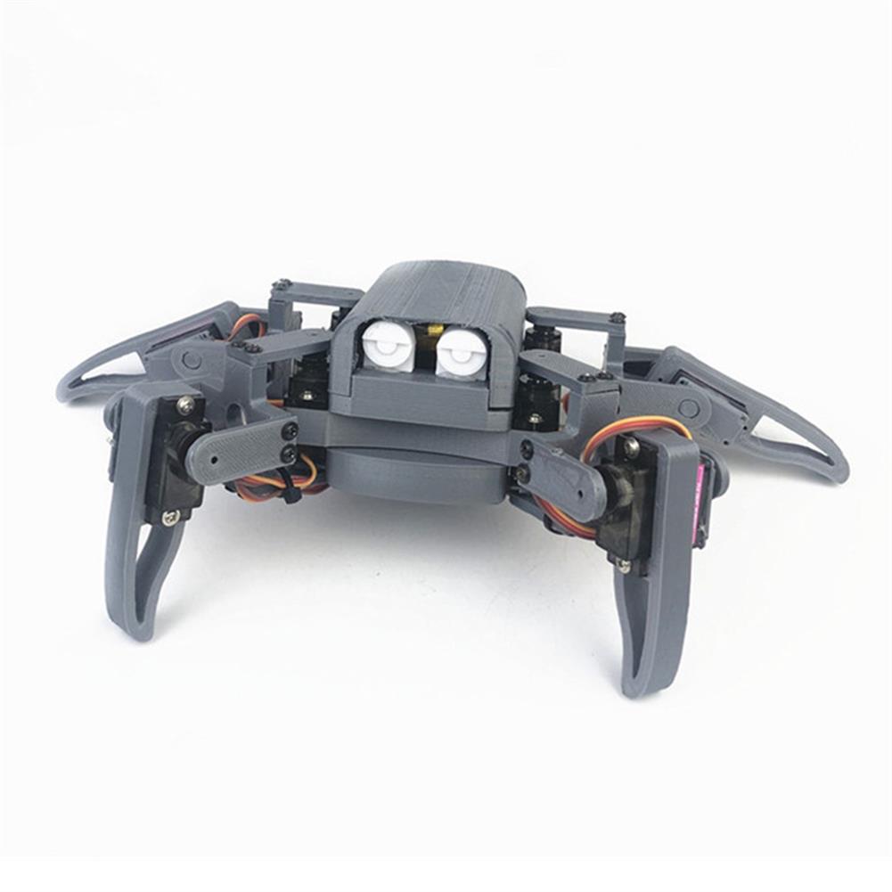 smart-robot Small Hammer DIY 4-Legs Open Source RC Robot Wifi PC APP Control Educational Kit HOB1574898