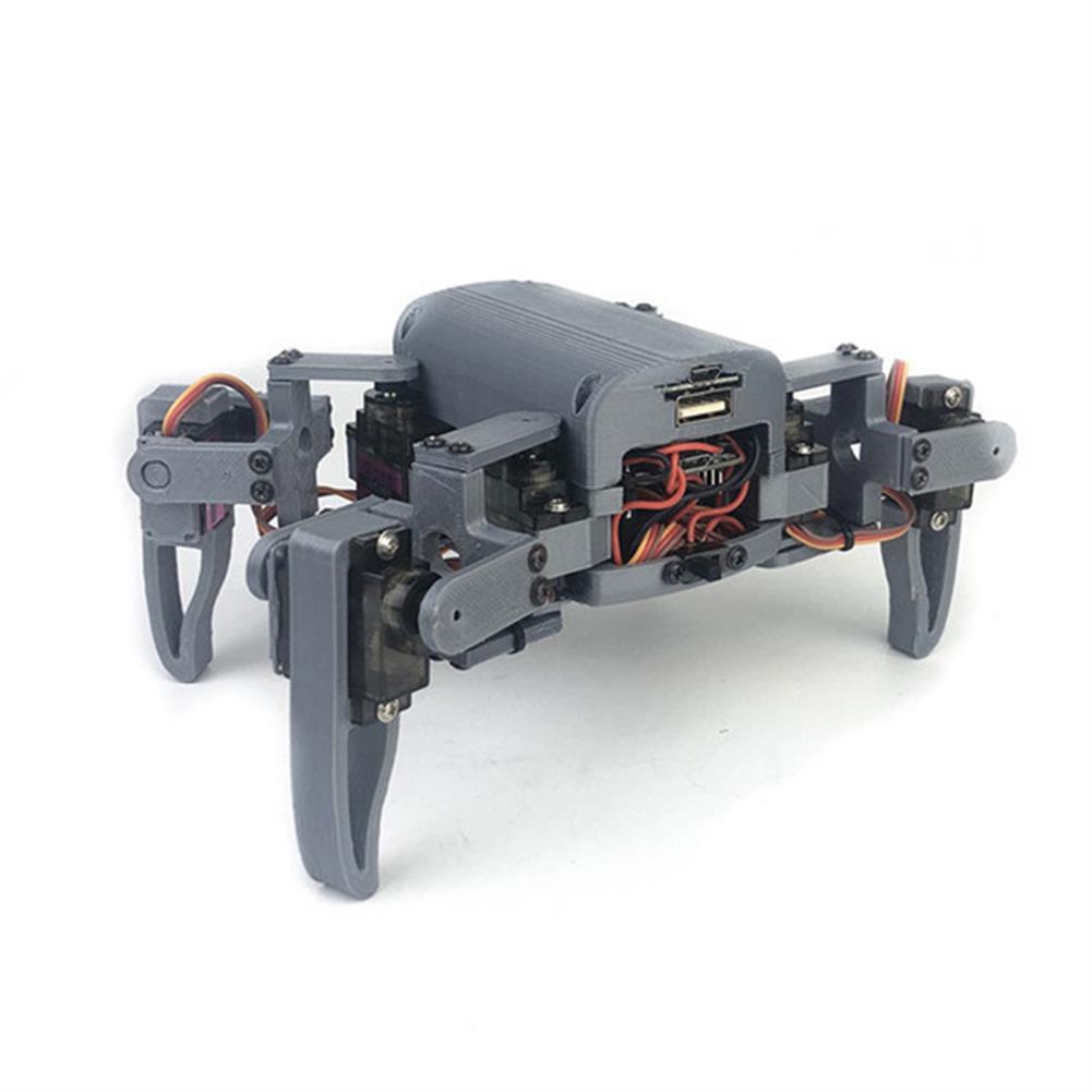 smart-robot Small Hammer DIY 4-Legs Open Source RC Robot Wifi PC APP Control Educational Kit HOB1574898 1