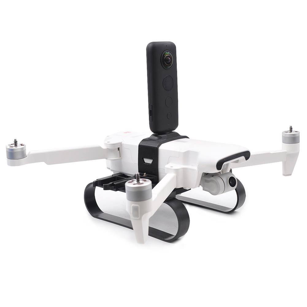 rc-quadcopter-parts STARTRC Camera Fill Light Mounting Bracket Holder Adapter Expansion Kit with Landing Gear for FIMI X8 SE HOB1575972 3