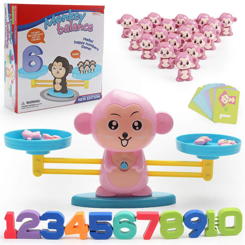 puzzle-game-toys Kids Early Educational Baby Scale Balance Math Game Children Montessori intelligence Toys HOB1579036