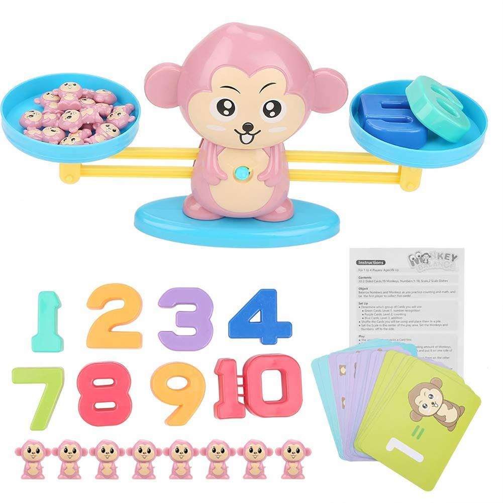 puzzle-game-toys Kids Early Educational Baby Scale Balance Math Game Children Montessori intelligence Toys HOB1579036 1
