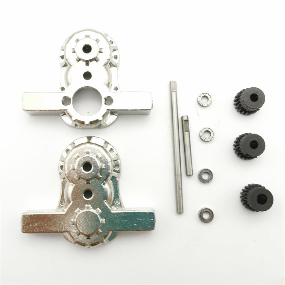 rc-car-parts 1 Set All Metal Transfer Gear Box Kit for WPL B16 B24 B36 C24 JJRC Q65 1/16 RC Vehicles Parts HOB1579135