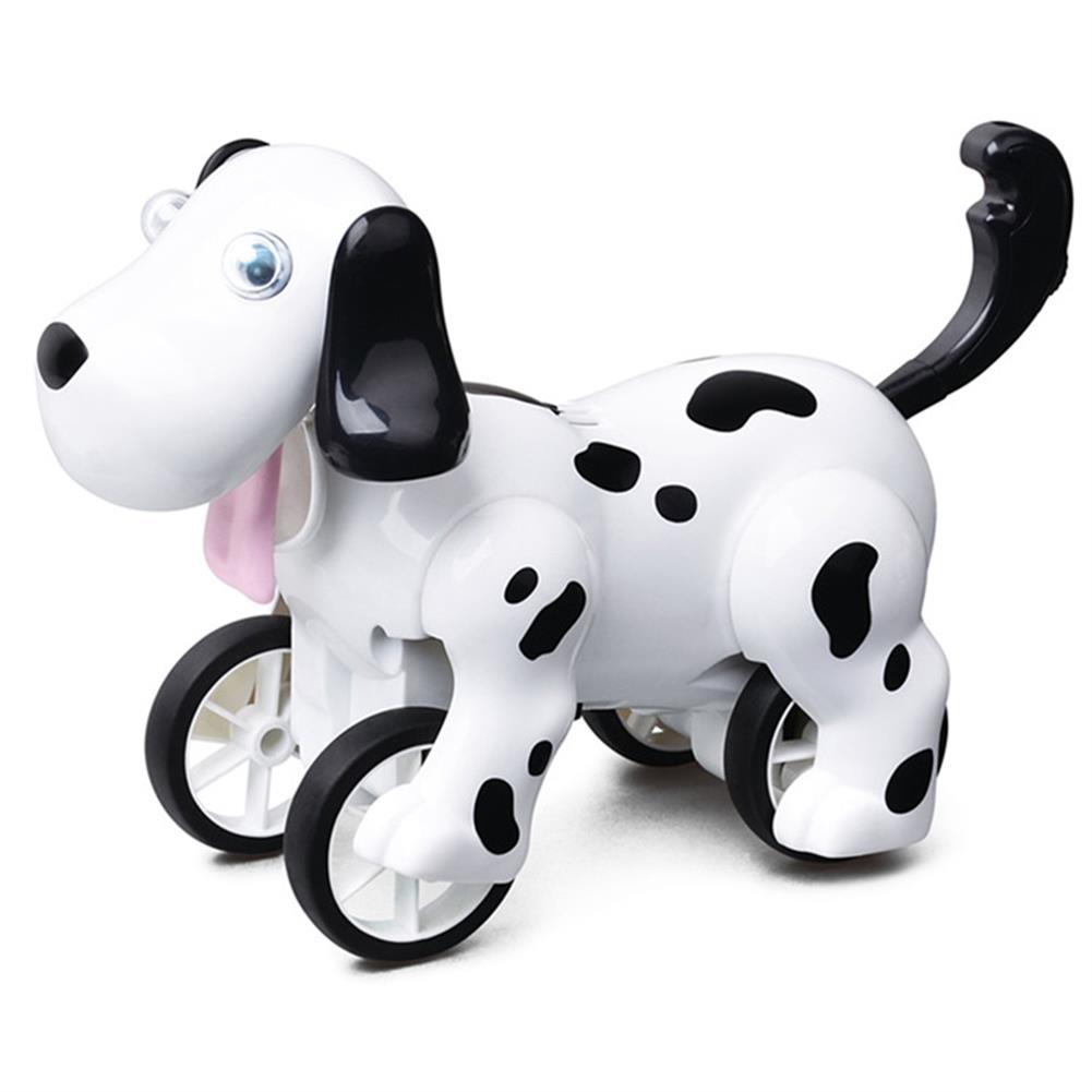 robot-toys 2.4G Smart RC Robot Dog Barking Hand Stand Walking Robot Dog Toy HOB1580707
