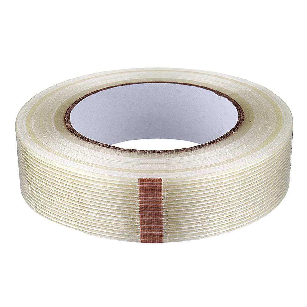 tools-bags-storage 10-50mmX50m High Strength Transparent Fiber Tape Adhesive Tape for RC Model HOB1583534 1