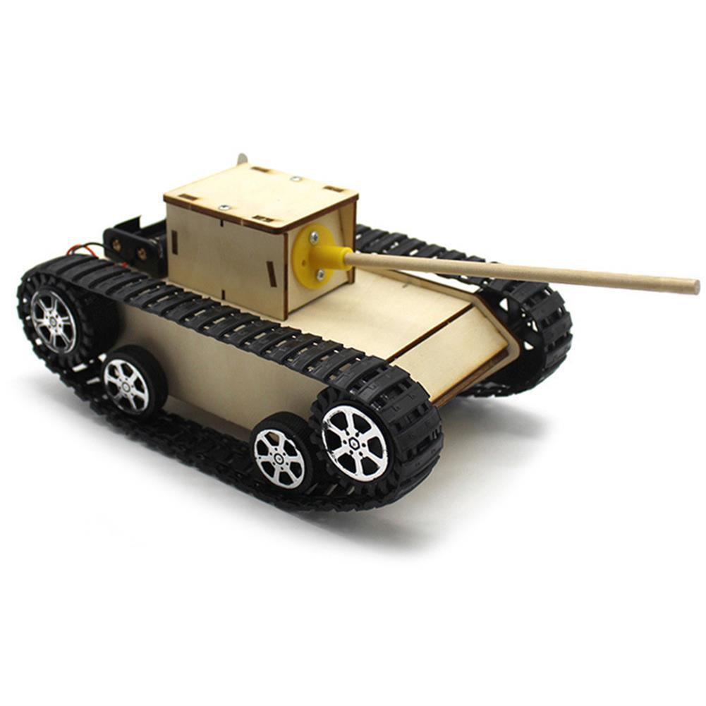 diy-education-robot Smart DIY Robot Tank STEAM Educational Kit Robot Toy HOB1584159