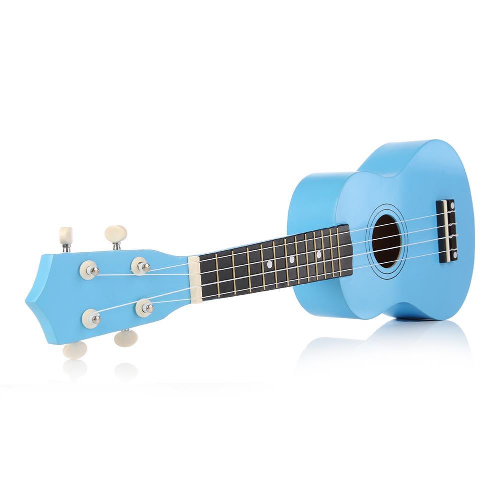 ukulele 21 inch 12 Fret Basswood Soprano Ukulele Uke Musical instrument with Gig bag Strings Tuner HOB1584591 3