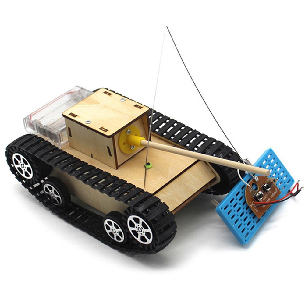diy-education-robot Smart DIY RC Robot Tank STEAM Electric Control Educational Kit Robot Toy HOB1584761