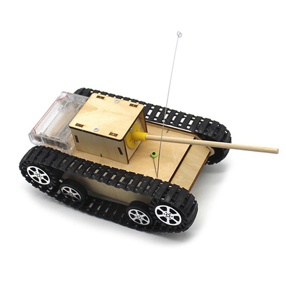 diy-education-robot Smart DIY RC Robot Tank STEAM Electric Control Educational Kit Robot Toy HOB1584761 1