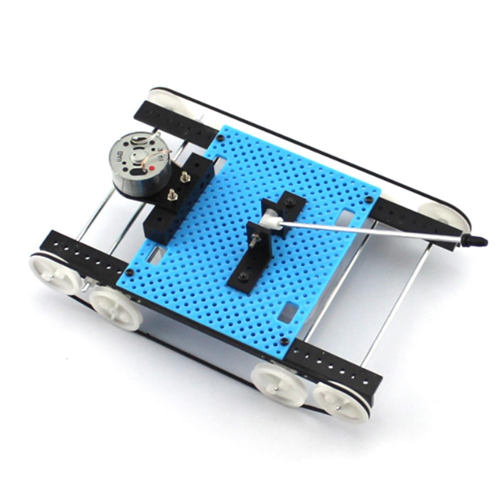 diy-education-robot DIY RC Robot Tank STEAM Educational Kit Electric Robot Toy HOB1584768