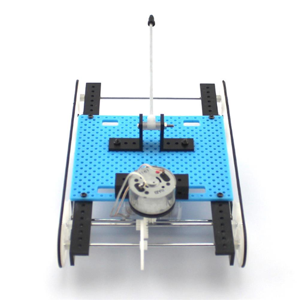 diy-education-robot DIY RC Robot Tank STEAM Educational Kit Electric Robot Toy HOB1584768 1