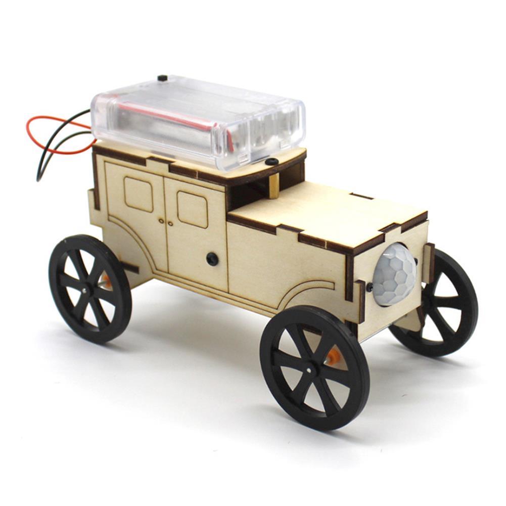 diy-education-robot DIY Smart Robot Car STEAM Body induction Educational Kit Robot Toy HOB1584770