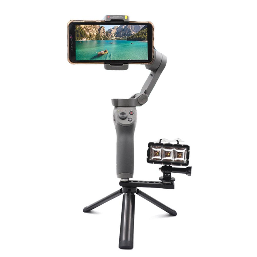 fpv-system Startrc for Mobile 2 3 DJI OSMO Gimbal Accessories Aluminum Extension Arm Adapter Holder 1/4 Screw Bracket Mount HOB1586867