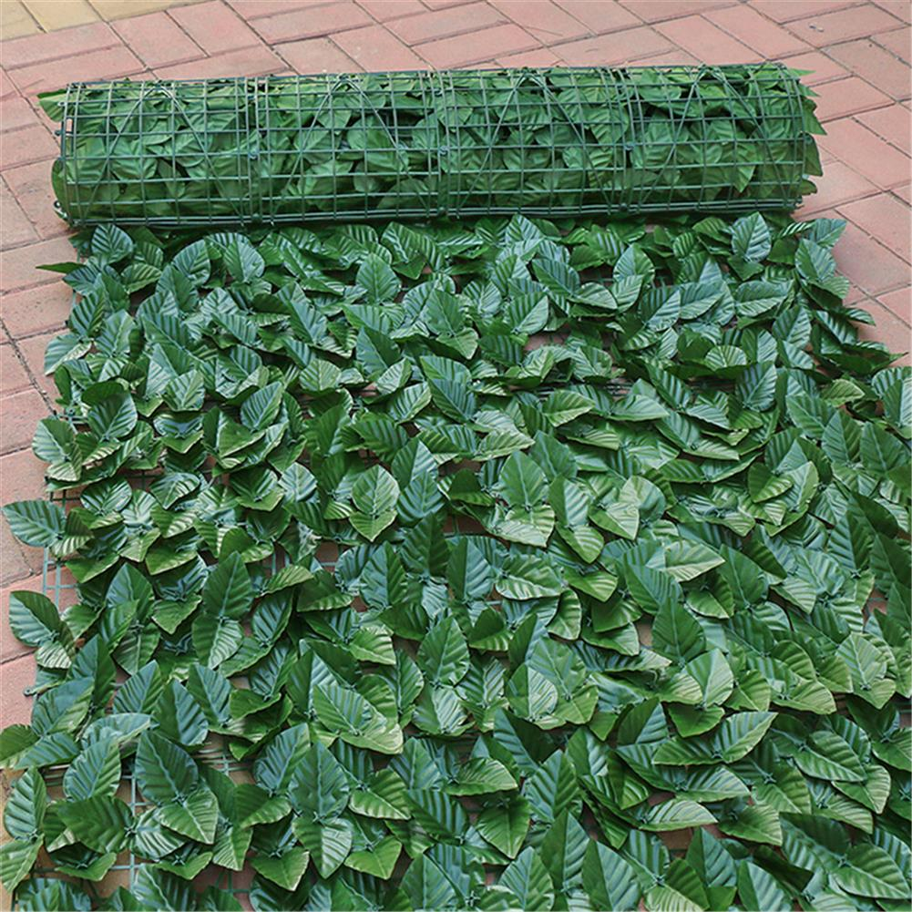play-mats 150x300cm Screen Artificial Faux Ivy Leaves Wall Garden Fence Outdoor Home Decorations HOB1587810