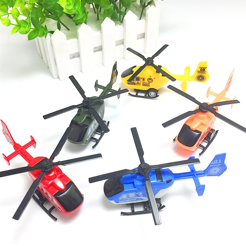 diecasts-model-toys Simulation Mini Pullback Plastic Helicopter Decoration Diecast Model Toys HOB1588911