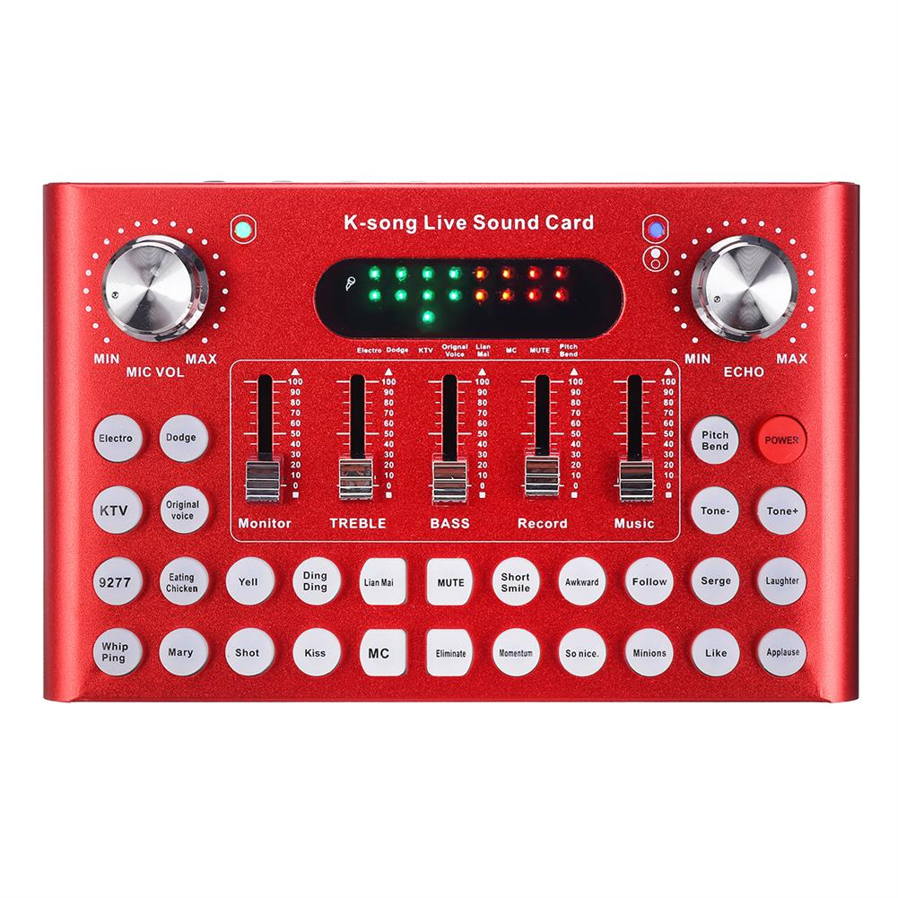 dj-mixers-equipment Live Sound Card Webcast Headset Mic Voice Control bluetooth for Phone Computer HOB1589110 1