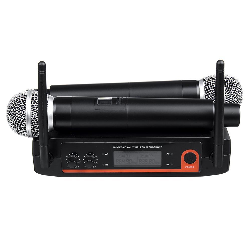 microphones-karaoke-equipment XYZ.SOUND A-555 Dynamic Coil Wireless Handheld Microphone System for Kraoke Speech Party HOB1589111
