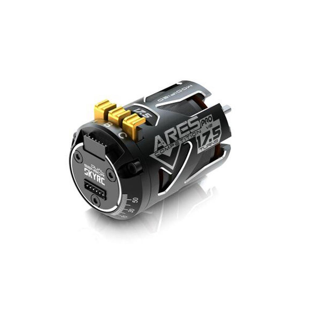 rc-car-parts SKYRC 540 ARES PRO V2 Competition 2200KV 13.5T 17.5T 21.5T Race Sensored Brushless Motor Alloy Shield for 1/10 RC Car Parts HOB1590912