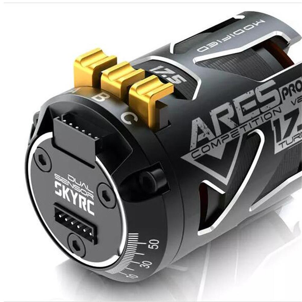 rc-car-parts SKYRC 540 ARES PRO V2 Competition 2200KV 13.5T 17.5T 21.5T Race Sensored Brushless Motor Alloy Shield for 1/10 RC Car Parts HOB1590912 1