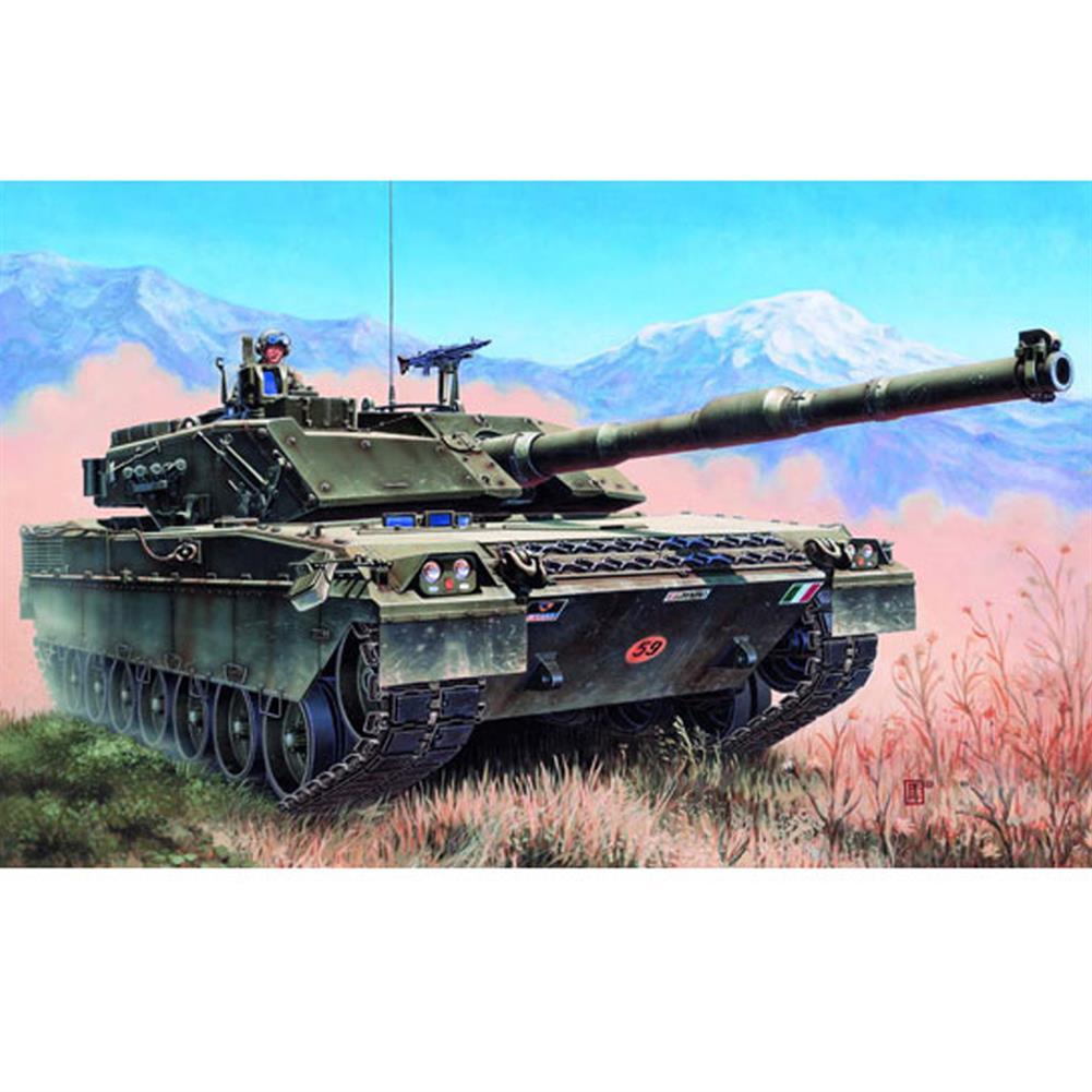model-building Trumpeter 1:35 Italian C1 Ariete DIY Assembled Tank Static Model Building Set HOB1591160
