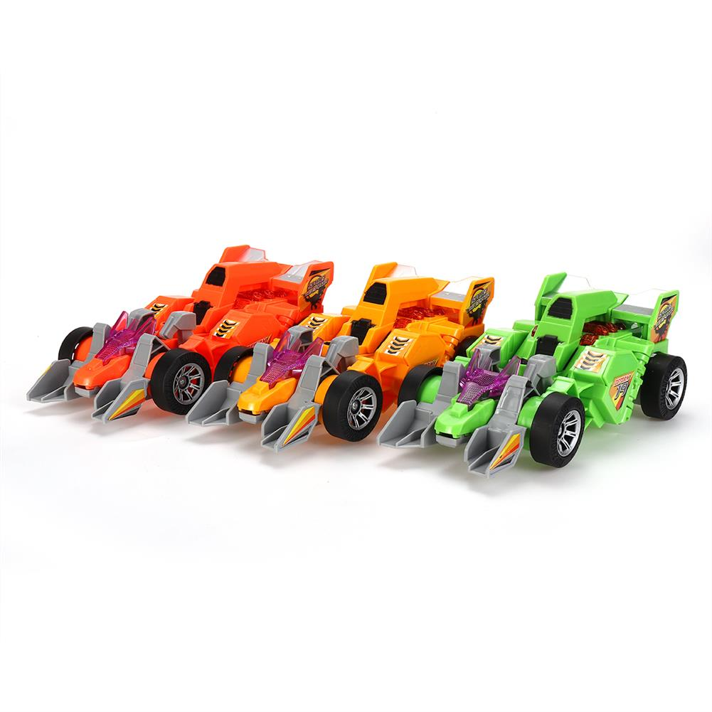 diecasts-model-toys Electric Transforming T-Rex Dinosaur LED Car with Light Sound Diecast Model Toy HOB1591202 1