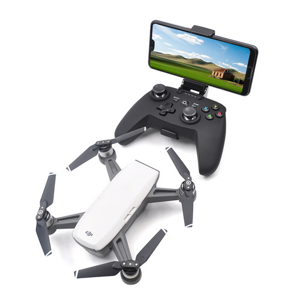 rc-quadcopter-parts STARTRC Bluetooth Wireless Remote Controller Transmitter with Phone Holder for DJI Spark Drone HOB1591427 1