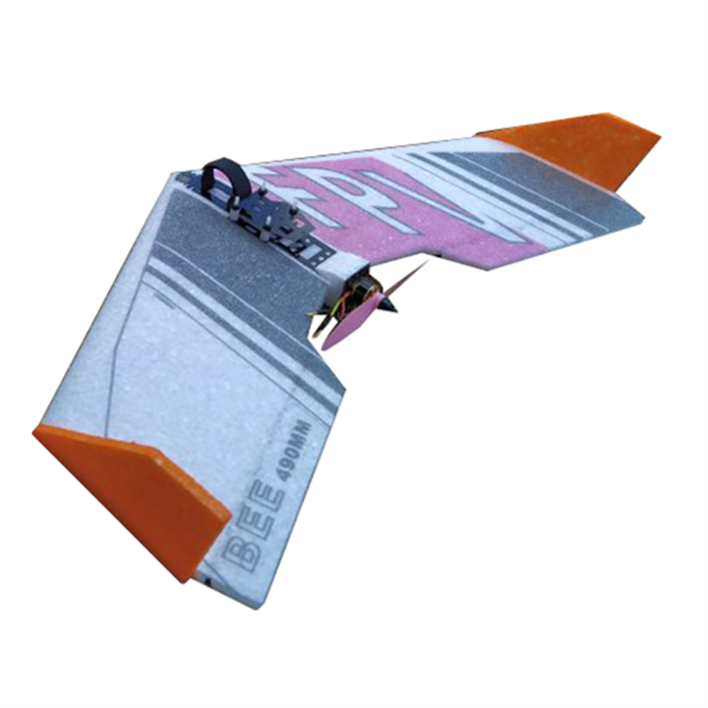 rc-airplane 2pcs BEE 490mm Wingspan EPP FPV RC Airplane Fixed Wing KIT for New Flyer Beginner Trainer HOB1592237 1