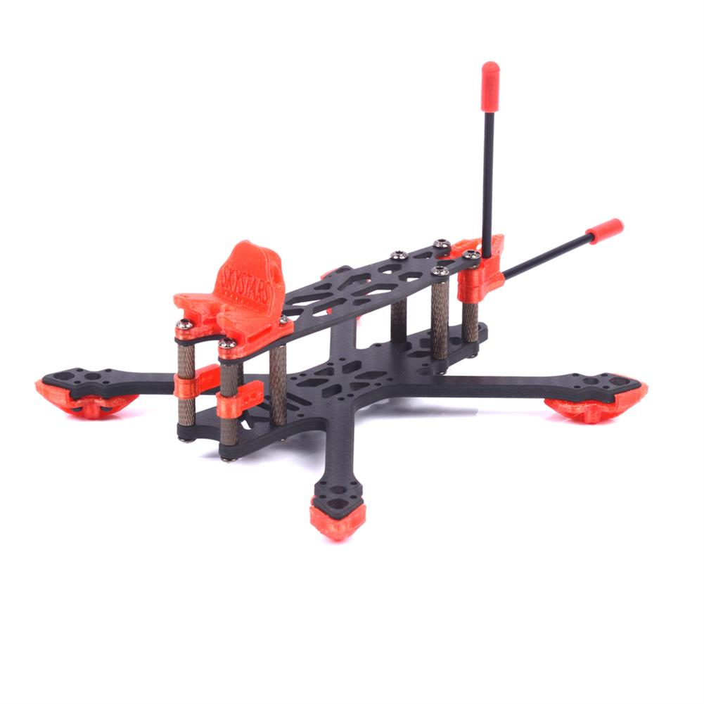 multi-rotor-parts Skystars StarLord X3 Spare Part 145mm Wheelbase 4mm Arm 3K Carbon Fiber Frame Kit for RC Drone FPV Racing HOB1596022