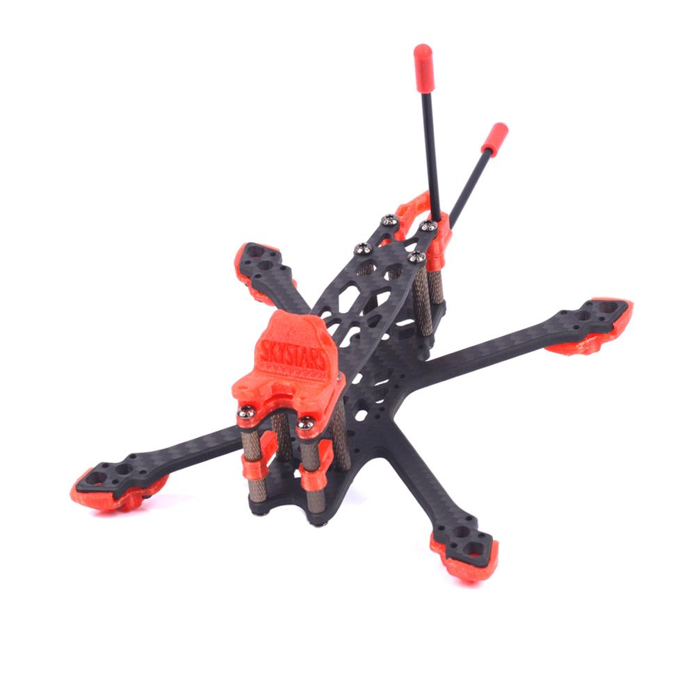 multi-rotor-parts Skystars StarLord X3 Spare Part 145mm Wheelbase 4mm Arm 3K Carbon Fiber Frame Kit for RC Drone FPV Racing HOB1596022 1