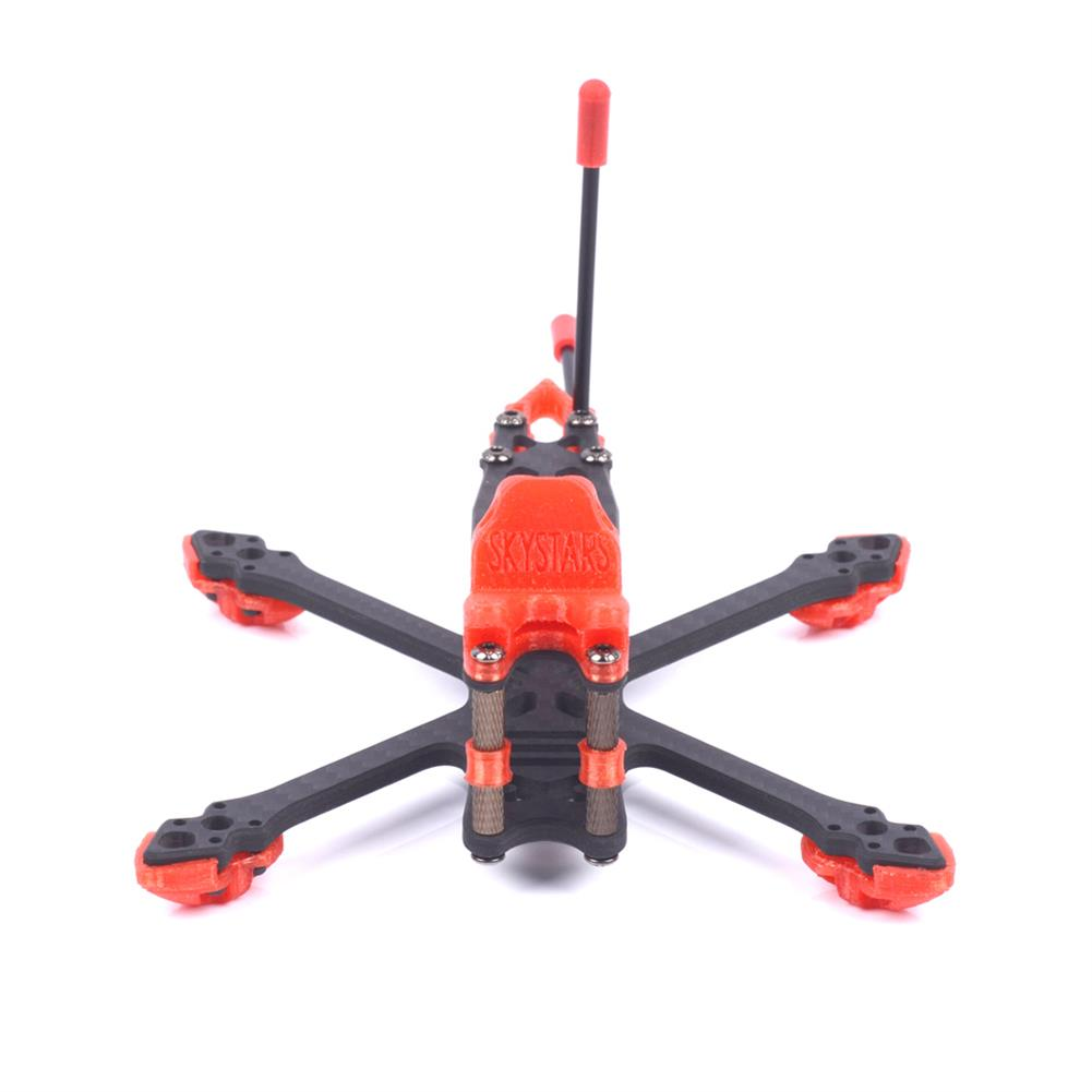 multi-rotor-parts Skystars StarLord X3 Spare Part 145mm Wheelbase 4mm Arm 3K Carbon Fiber Frame Kit for RC Drone FPV Racing HOB1596022 2