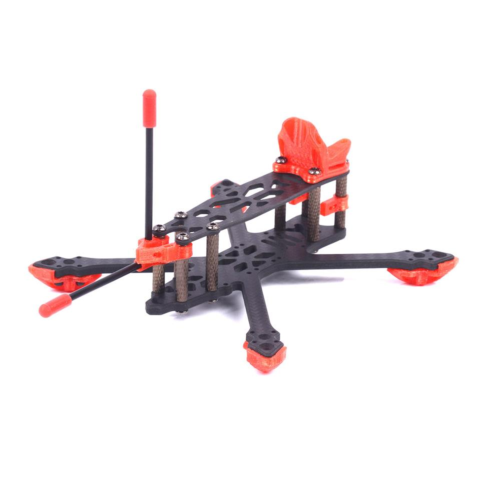 multi-rotor-parts Skystars StarLord X3 Spare Part 145mm Wheelbase 4mm Arm 3K Carbon Fiber Frame Kit for RC Drone FPV Racing HOB1596022 3