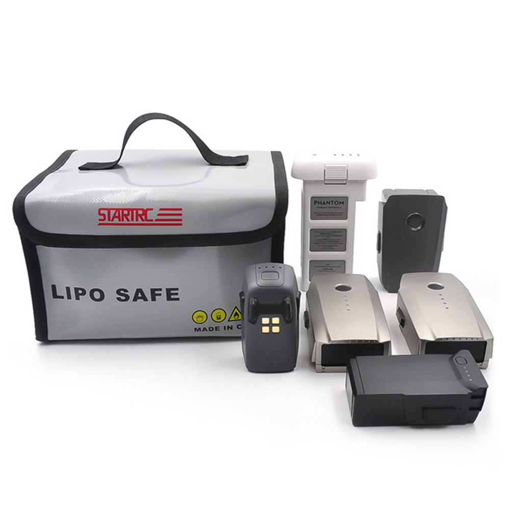 rc-quadcopter-parts STARTRC Explosion-proof Lipo Battery Safety Protection Storage Bag for DJI Mavic Mini/Mavic 2 RC Models Drone HOB1598603