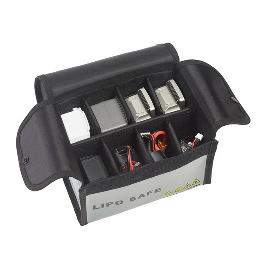 rc-quadcopter-parts STARTRC Explosion-proof Lipo Battery Safety Protection Storage Bag for DJI Mavic Mini/Mavic 2 RC Models Drone HOB1598603 1