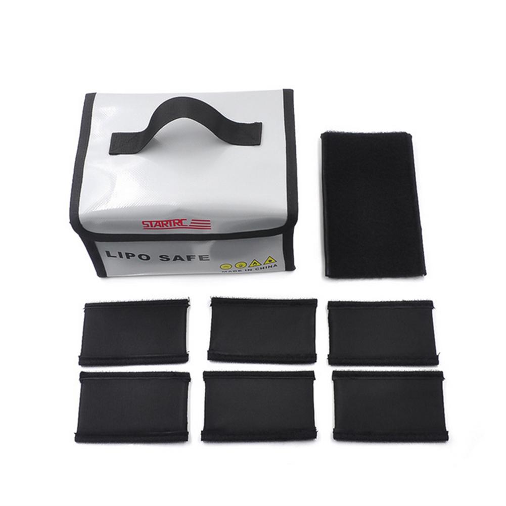 rc-quadcopter-parts STARTRC Explosion-proof Lipo Battery Safety Protection Storage Bag for DJI Mavic Mini/Mavic 2 RC Models Drone HOB1598603 3