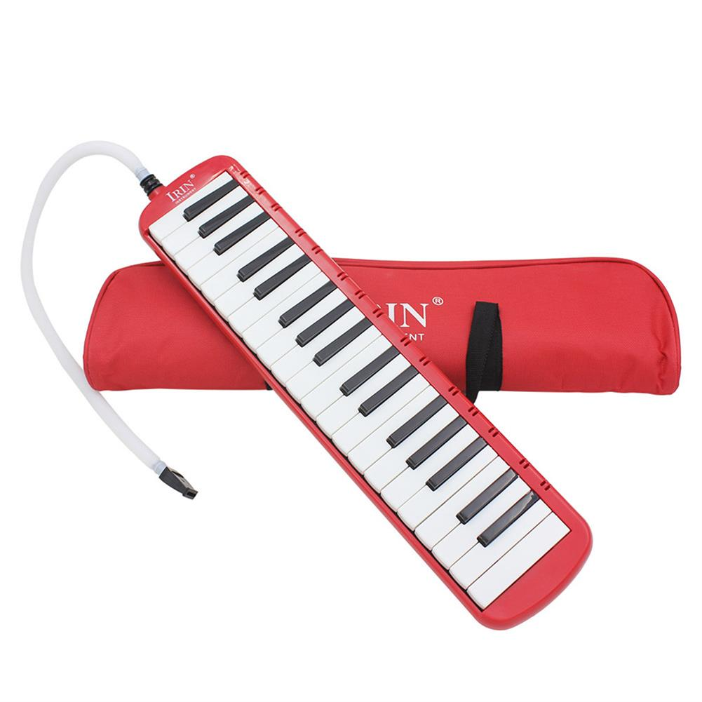 melodica IRIN 37-Key Melodica Harmonica Electronic Keyboard Mouth Organ with Handbag HOB1598984 2