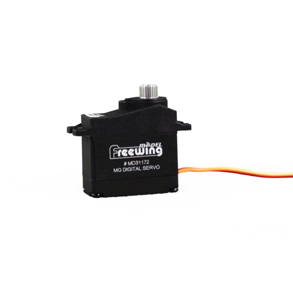 rc-airplane-parts Freewing 17g Metal Gear Digital Servo CW/CCW for RC Airplane Fixed-wing Spare Part HOB1599740 1