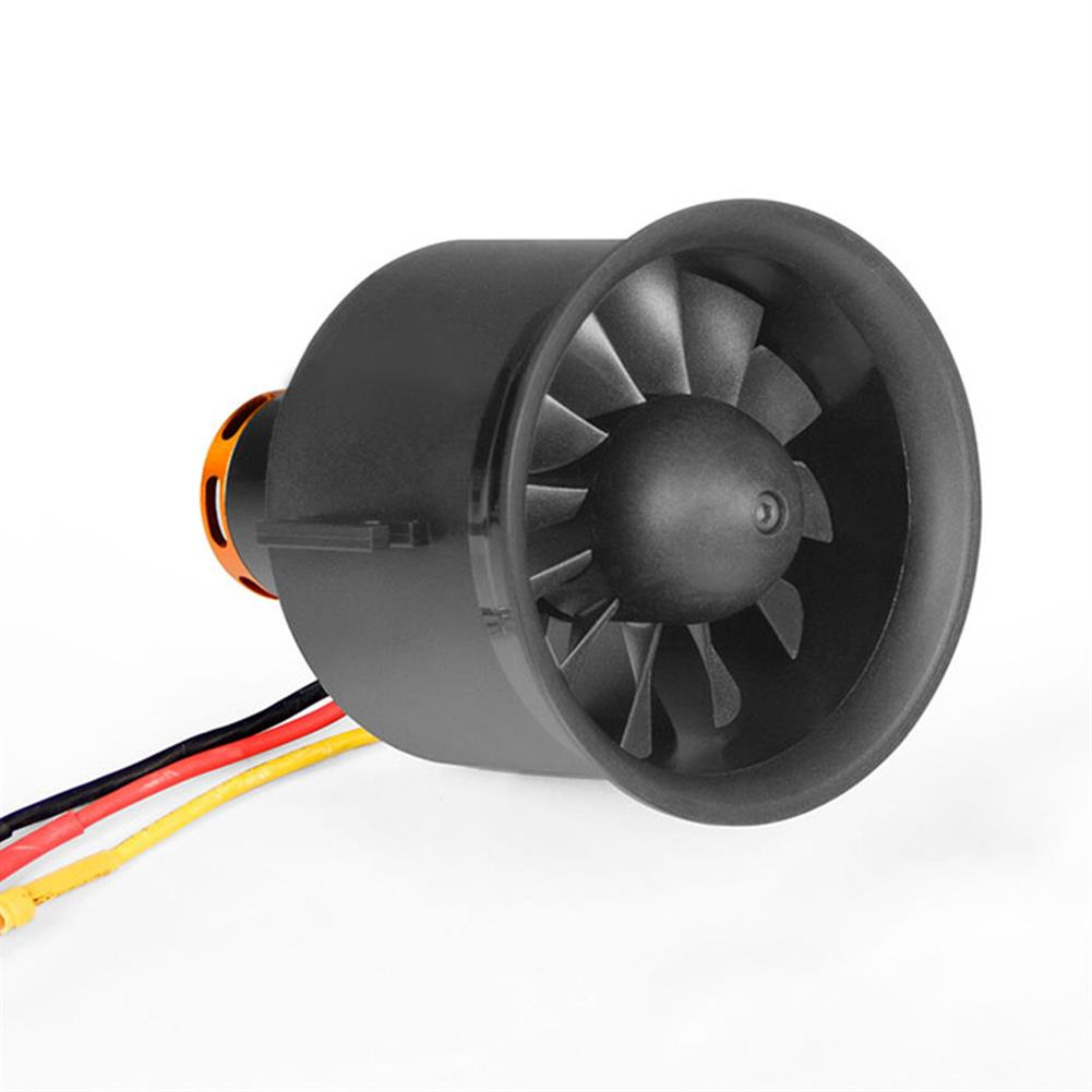 rc-airplane-parts Freewing 70mm EDF Ducted Fan 12 blades 4S E7215 with 2850KV Motor for 70 EDF RC Airplane HOB1599743