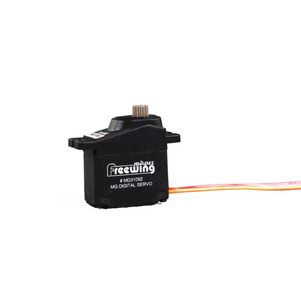 rc-airplane-parts Freewing 9g Metal Gear Digital Servo 100mm CW/CCW for RC Airplane Fixed-wing Spare Part HOB1599745 1