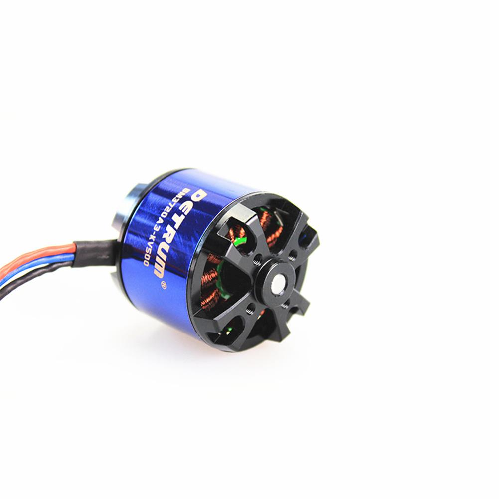 rc-airplane-parts Detrum BM3720A3-KV500 Brushless Motor for RC Airplane Spare Part HOB1599922 2