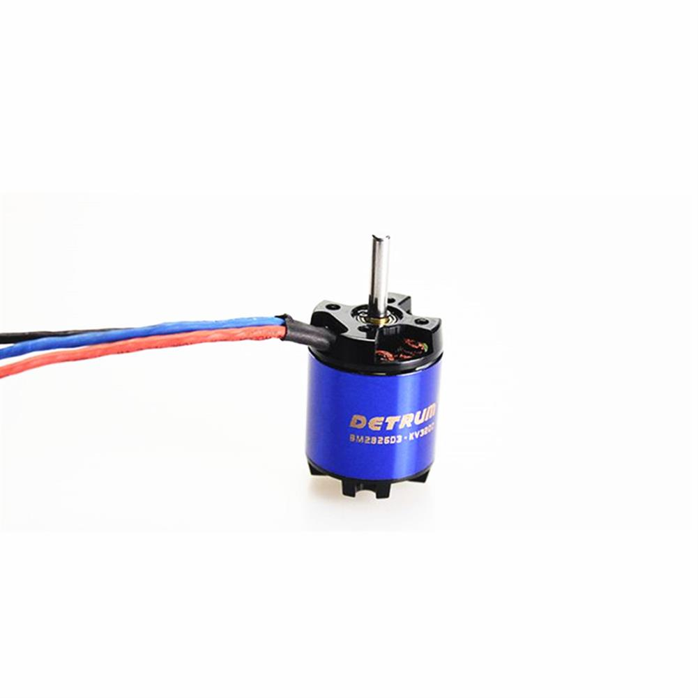 rc-airplane-parts Detrum BM2826D3-KV3200 Brushless Motor for RC Airplane Spare Part HOB1599929