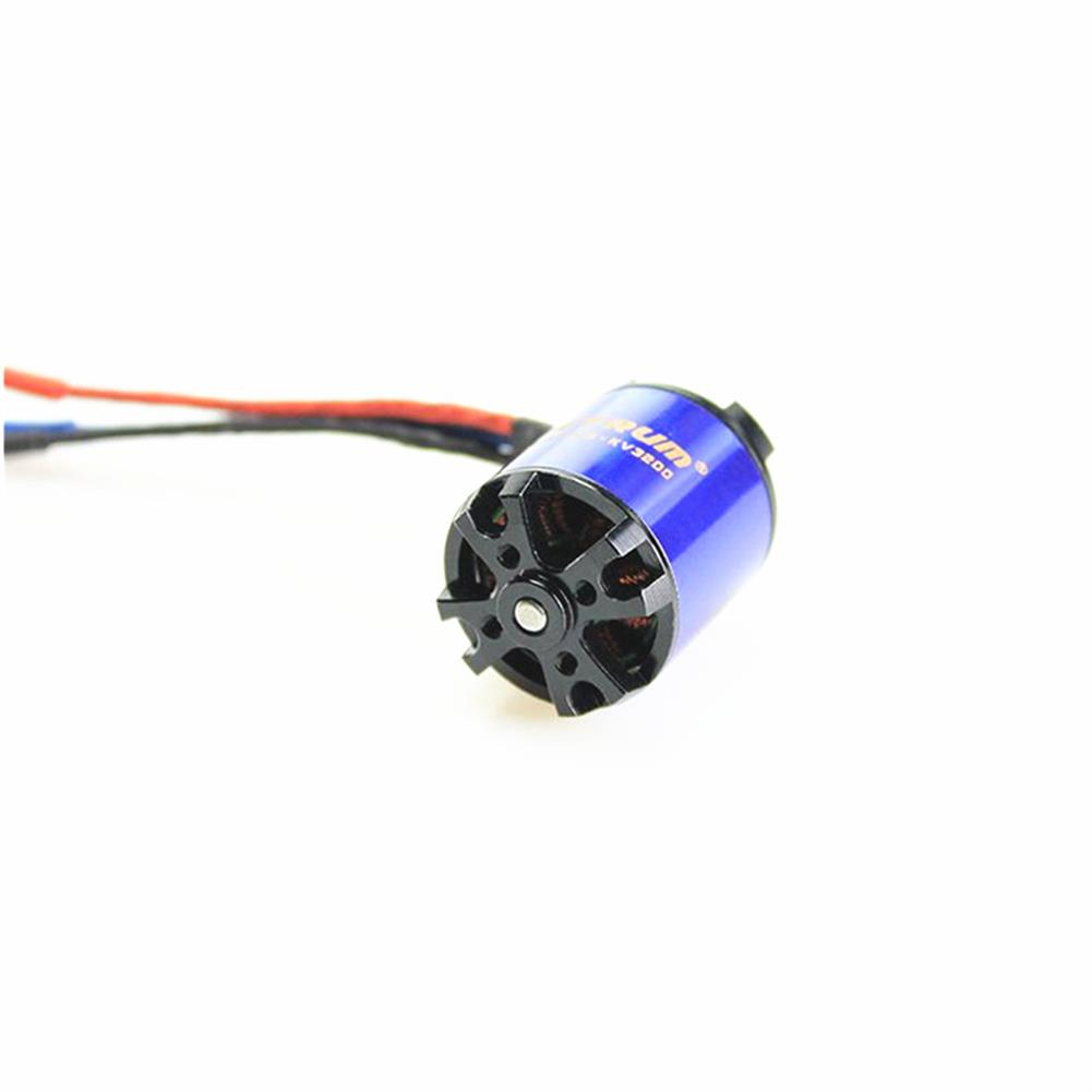rc-airplane-parts Detrum BM2826D3-KV3200 Brushless Motor for RC Airplane Spare Part HOB1599929 2